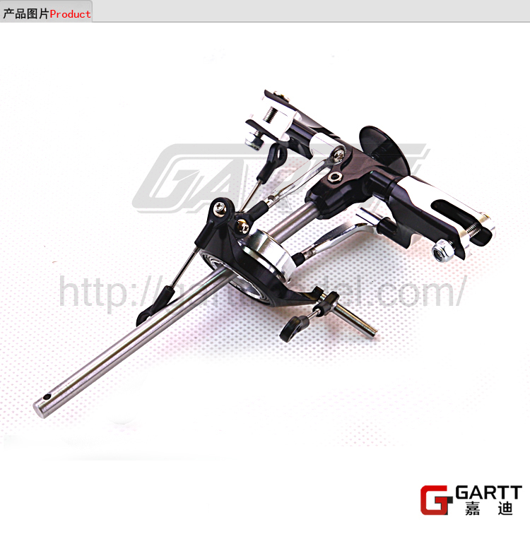 Freeshipping  GARTT GT450 DFC Main Rotor Head Assembly 100% Fits Align Trex 450 gartt 500 pro metal main rotor head assembly fits align trex 500 helicopter hobby
