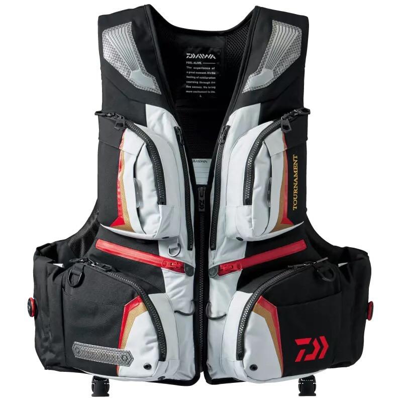 2017 New High Quality  Fishing Vest Good Quality Famous Brand Professional Life Vest Vf-152g Multi-pocket Floating Vest