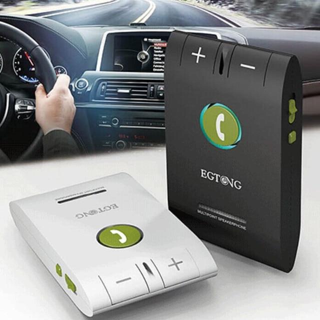 Bluetooth Car Kit Speakerphone Hands free 6E Headset Bluetooth Speaker for Smartphones Multipoint Wireless Sun Visor Handsfree