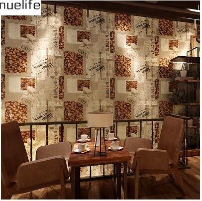 ФОТО Retro Nostalgic Wallpaper Restaurant Background Continental Lounge Bar Tea Shop 3d  Coffee Shop bedroom Wallpaper