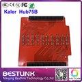Kaler adapter hub75b placa converter pin port para porta hub75 para kaler led cartão de controle de módulo de visualização rgb display led tela