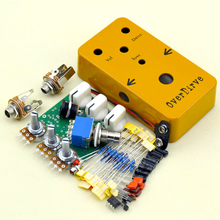 DIY guitar Overdrive pedal OD3 Kits With 1590B And 9 PIN 3PDT Foot Switch