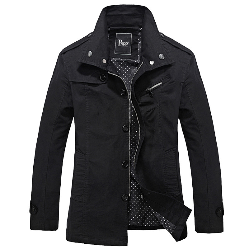 b0a82dfd8 US $24.63 15% OFF Brand Summer Coat Men Jackets And Coats autumn mens  jacket Korean Mens Jacket male Windbreaker Collar Hombre-in Jackets from  Men's ...