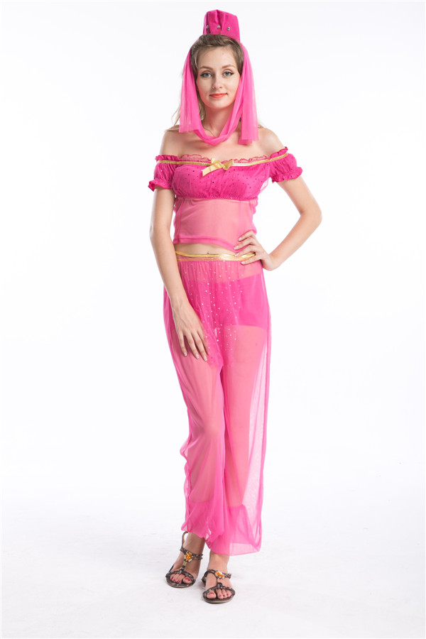 Free Pp Sexy Belly Dancer Arabian Princess Costume Sexy