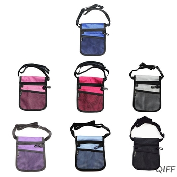 Fanny Pack Nursing Belt Organizer For Women Nurse Waist Bag Shoulder Pouch