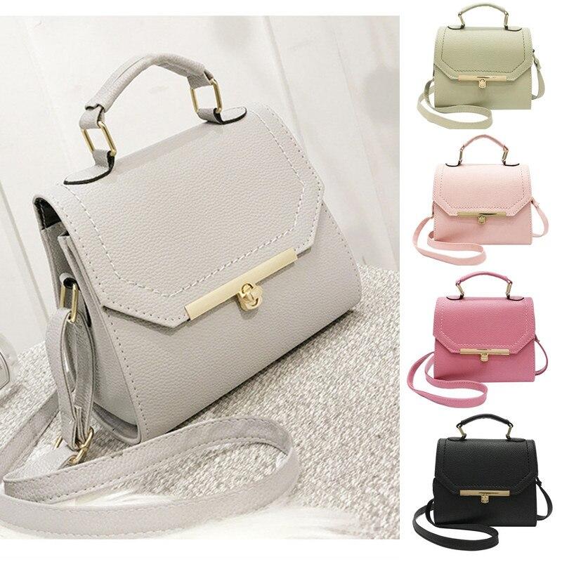 New Women PU Leather Handbag Vintage Crossbody Bag Lady Shoulder Bag Messenger Bags Girls Fashion Casual Tote Small Bags shoulder bag