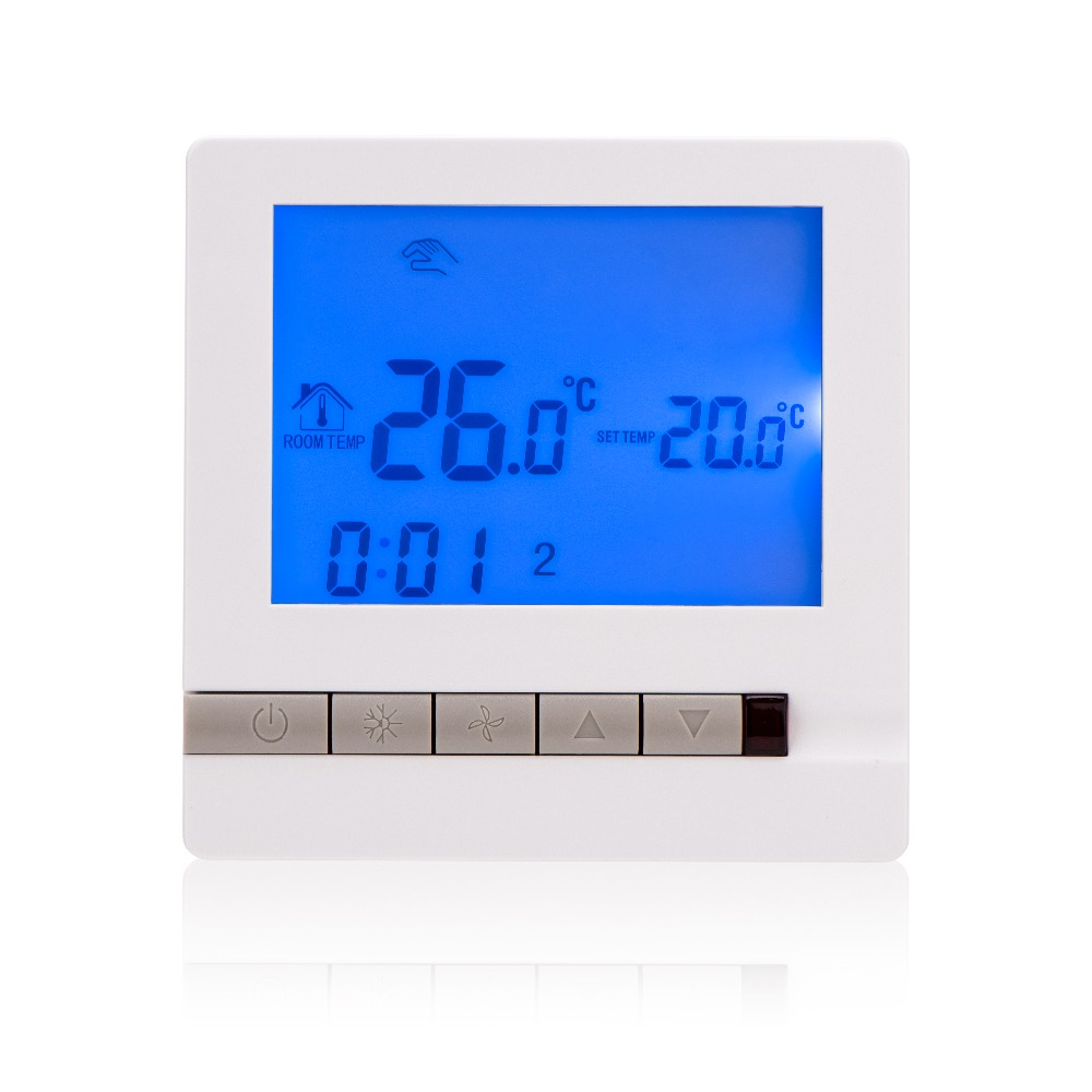 Free Shipping Central water heating Thermostat LCD Digital Display SML-605 for water heating with Back Light intelligent automaticly lcd digital display lux meter free shipping