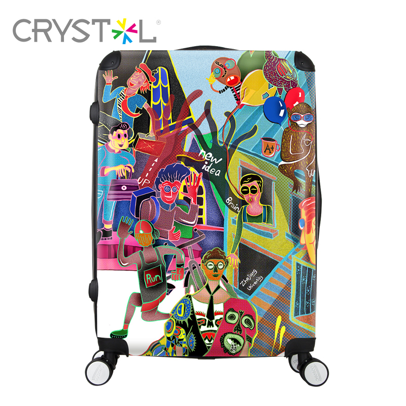 CRYSTL 28inch travel luggage suitcase made of ABS+PC and hardside for unisex,and you can choose the photo for what you want jim hornickel negotiating success tips and tools for building rapport and dissolving conflict while still getting what you want