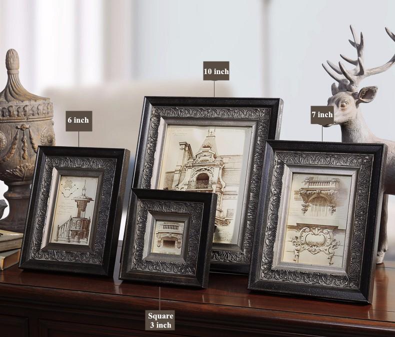 Top Qualität Holz Foto Rahmen Bilderrahmen Vintage Fotoframe ...