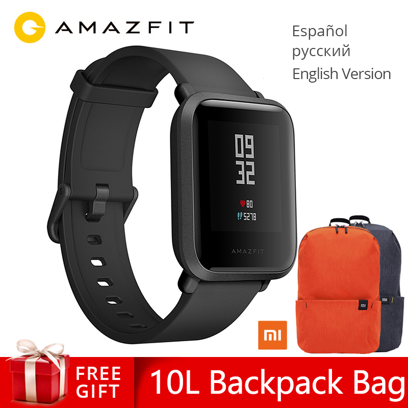 Xiaomi Amazfit Bip Smart Watch Huami GPS Smartwatch Android iOS Heart Rate Monitor 45 Days Battery