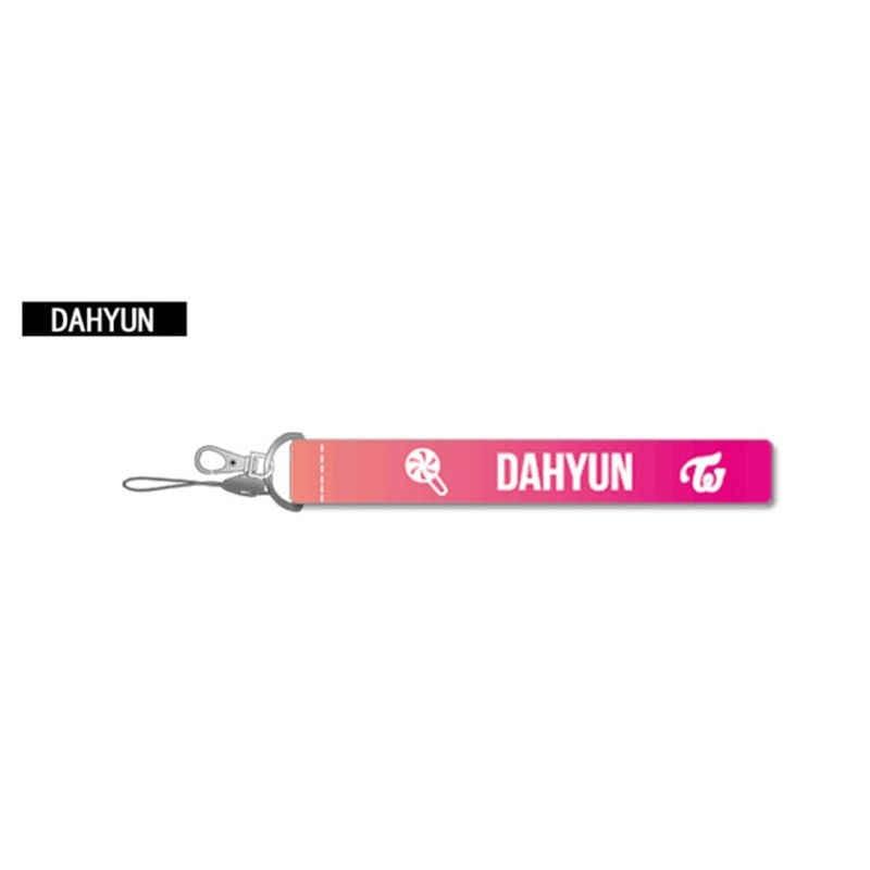 Kpop дважды тема памятный альбом нейлон брелок для ключей K-pop брелок подвеска, брелок для ключей