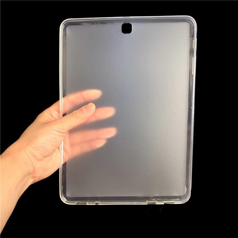 GUKEEDIANZI Tablet Case Voor Samsung Galaxy Tab S2 SM T810 T815 T815C 9.7 inch Zachte Siliconen Matte Cover Voor Samsung tab S2 9.7