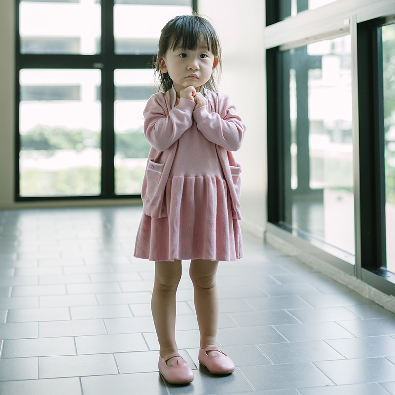 Spring Baby Girls Cardigan Coat+Dress Toddler Girls Pure Cotton Clothes Girl V-neck Collar Long Sleeve Coat Kids Knit Vest Dress spring autumn cute baby kids girls party dress kids clothes cotton toddler girl clothing long sleeve baby girl princess dress