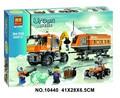394pcs 2016 BELA 10440 City Arctic Outpost Policemen building blocks Figures Model Toys jail cell Bricks
