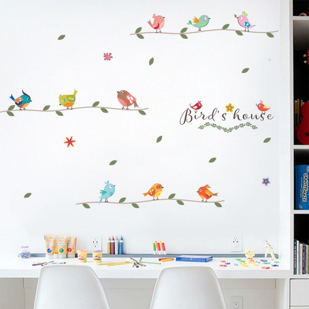 Wall Stickers Kids Room Bedroom Nursery