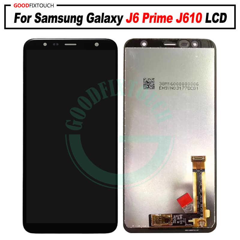 لسامسونج غالاكسي J6 + J610 SM-J610F SM-J610FN عرض lcd شاشة قطع غيار سامسونج J6 + SM-J610F lcd وحدة شاشة عرض