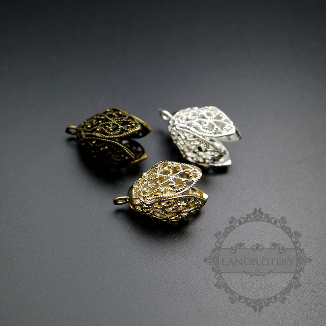 Aliexpress buy 16x16x25mm vintage style bronzesilvergold 16x16x25mm vintage style bronzesilvergold brass antiqued filigree flower diy beads cap earring aloadofball Choice Image