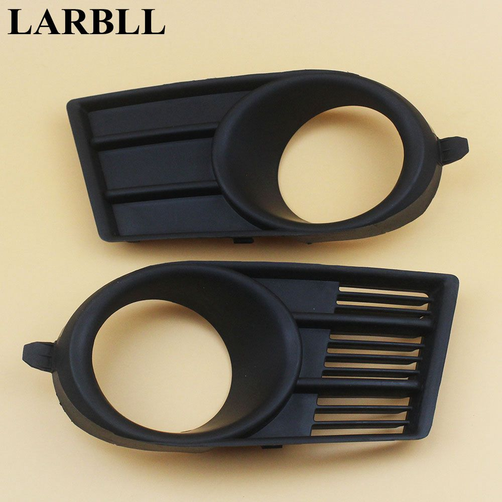 LARBLL 2PCS New Front Left&Right Fog Lamp Light Surrounds Grill Cover Frame For Suzuki Swift 2005-2006 1 pcs left right fog lamp with bulbs front bumper driving fog light for suzuki alto 2009 2017