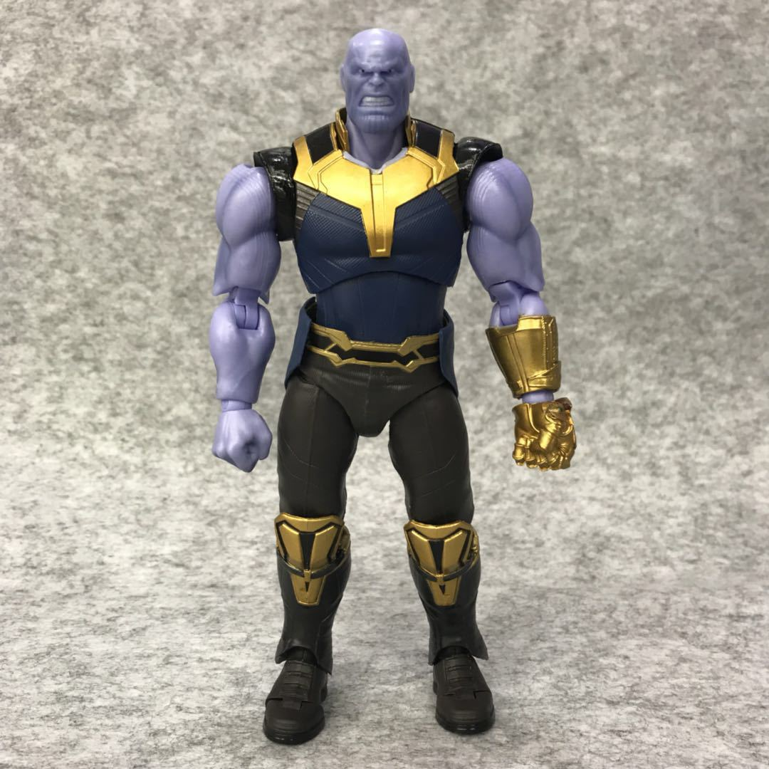 19CM Movie Avengers Infinity War Thanos PVC Action Figure Model Toy Doll Gift in Action Toy Figures from Toys Hobbies