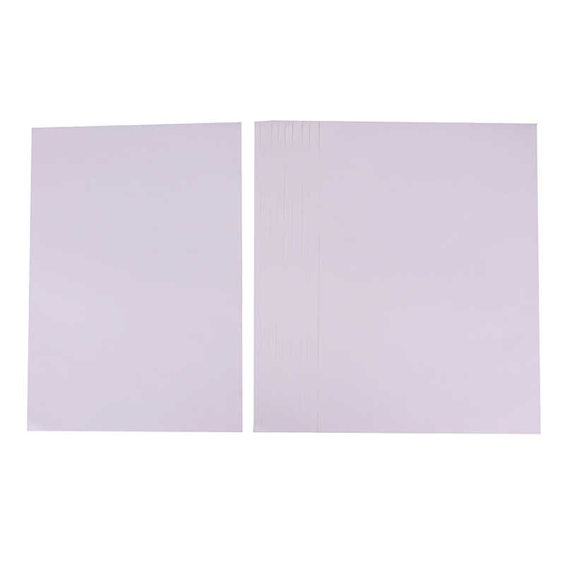 10 Buah/Set A4 Matt Dicetak Putih Diri Perekat Kertas Stiker Iink untuk Kantor