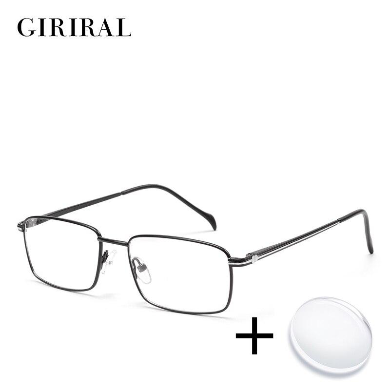 c4030399b Homens de metal Prescrição espetáculo quadro marca miopia óculos de lentes  De Óculos ópticos retro designer claro # ZF1018PL