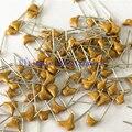 100 шт./лот многослойный керамический конденсатор 330 50V 33pF 330M P = 5,08 мм