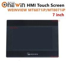 Weinview mt6071ip mt8071ip hmi tela de toque 7 polegada 800*480 usb ethernet nova interface máquina humana substituir mt6070ih5 mt6070ih