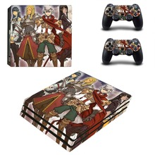 Game Langrisser PS4 Pro Skin Sticker For Dualshock PlayStation 4 Console and Controllers PS4 Pro Skin Sticker Decal Vinyl