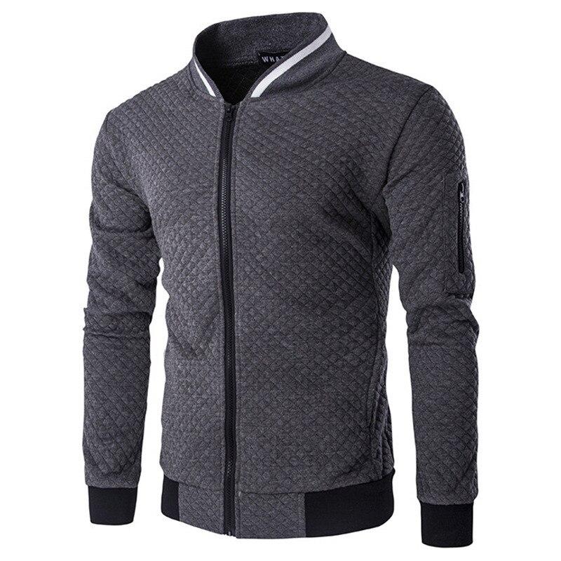 2017 New Men S Jacket Zipper Design Mens Outerwear Coats Stand Neck High Quality Mens Autumn