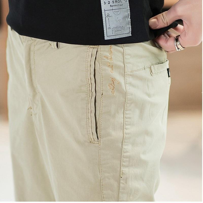 Мужские повседневные брюки 2019 Весна Новые прямые простой узкая нога свободные штаны Европейский Стиль подходит для вечерние работа путешествия знакомства - 4
