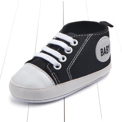 o  New Canvas Classic Sports Sneakers Newborn Baby Boys Girls First  Walkers Shoes Infant Toddler Soft Sole Anti slip Baby Shoes-in First Walkers  from ... 59d5760fb25a