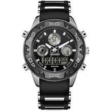Человек часы открытый спорт водонепроницаемая цифровая часы моды случайные часы mulit функция часы календарь мужчина часы