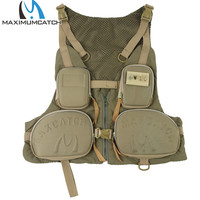 Free Shipping Men S Fly Fishing Vest With Multifunction Pockets Fly Fishing Jackets