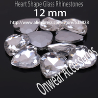 Free Shipping 12 12mm 75pcs Lot Marquise Shape Glass Beads Crystal Fancy Stone Clear Crystal Pear
