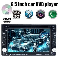 6 5 Inch Universal 2 Din Car DVD MP4 Player For Rear View Camera Touch Screen