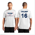 Donald Trump T-Shirt  For 2016 USA presidential Make America Great Again Trump Tops Election Campaign Vote Short Sleeve T-Shirt