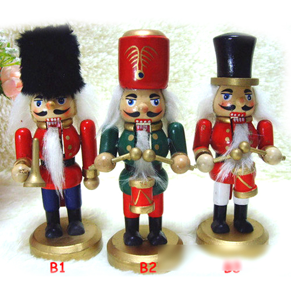 ht029 free shipping action toy 145cm king puppet soldier nutcracker soldiers toys christmas gift - Christmas Soldier