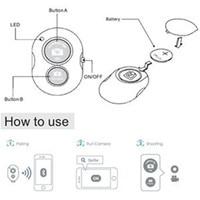Камера fghgf с Bluetooth пультом дистанционного управления, фотозатвором для iphone 6 6s 7 Pau de, селфи-Палка для samsung s8, Android 5