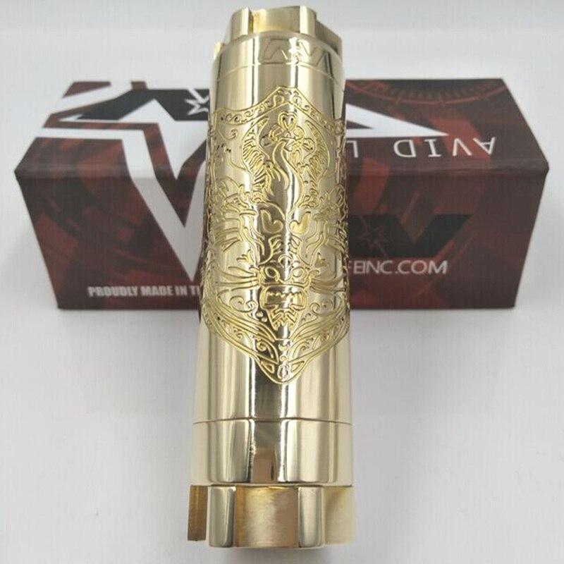 Date AVID LYFE Dragon KAEN bouclier mécanique mod e cigarette en laiton résine matériel mech mod 510 fil 18650 20700 batterie