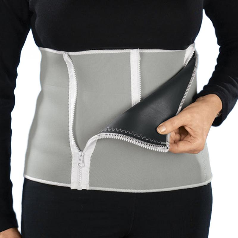 5 Zippers Design Men Hot Body Shapers Cotton Slimming Belt Belly For Mens Waist Trainer Band Compression Underwear Strap