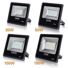 цена на High Quality LED Flood Light 30W 50W 100W Floodlight IP66 Waterproof Led Spotlight Garden Street Outdoor Lighting Floodlamp