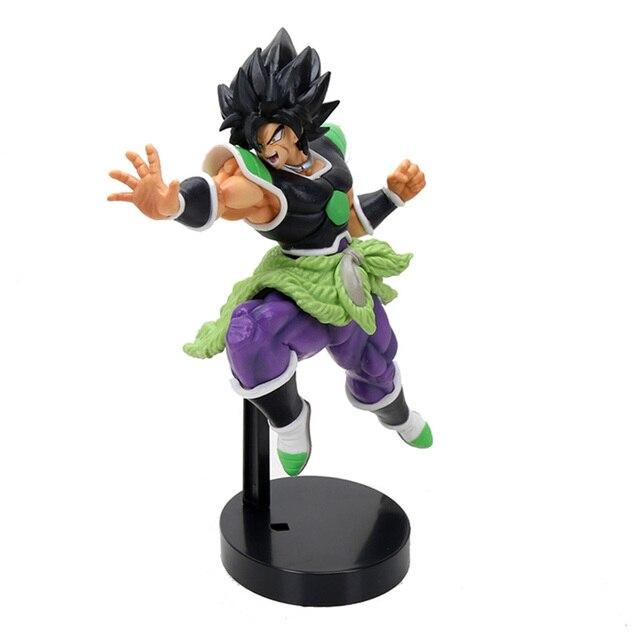 22 centímetros Dragon Ball Super Estatueta Broly Super Saiyan Broly Action Figure Dragon Ball PVC Boneca Coleção Toys
