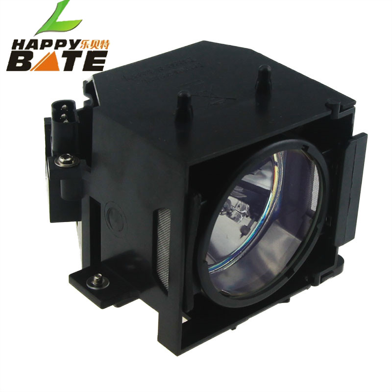 ELPLP37 Replacement TV Projector lamp with Housing for EMP-6000 EMP-6010 EMP-6100 PowerLite 6110i PowerLi 6100I happybate