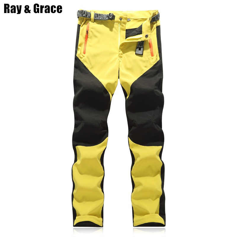 8f9c4fe52ff4 RAY GRACE Hiking Pants Men Summer Waterproof Outdoor Stretch Quick Dry  Pants Trekking Fishing Trousers Hunting