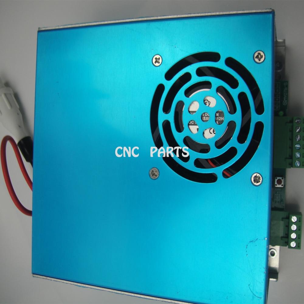 Fuente de alimentación de láser de CO2 AC110V de 60W para tubo láser de CO2 de 60W