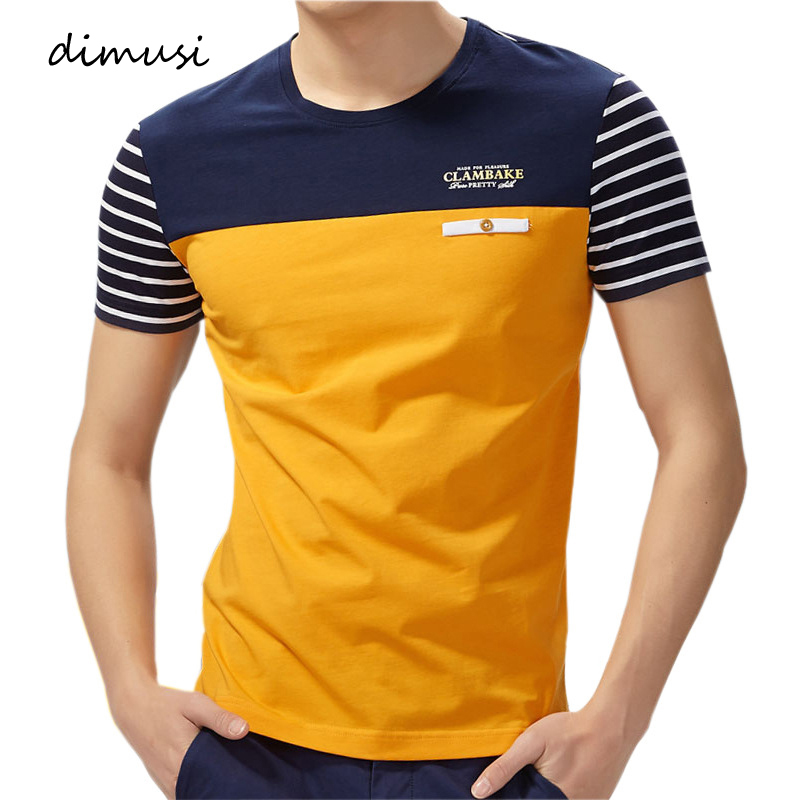 DIMUSI Mens Polo Shirts Summer Fashion Men Cotton Striped Short Sleeve Shirts Fashion Polo Tees Para Hombre Brand Clothing 4XL