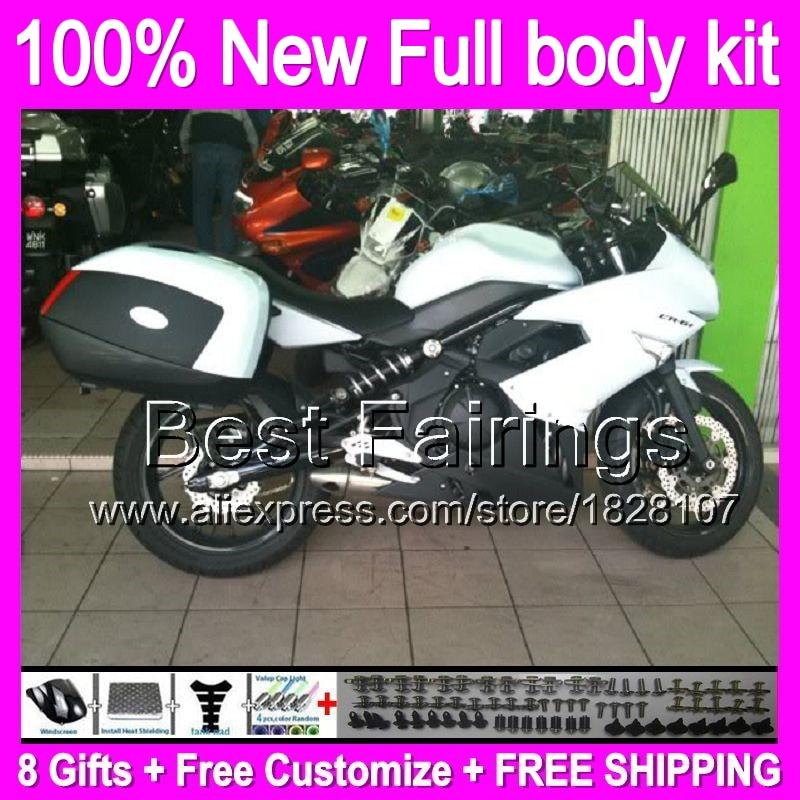Complete Black Bolt Kit Body Screws for Kawasaki Ninja 650R ER-6F ER-6N EX 650 06 07 08