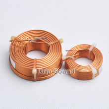 1pcs 1.2mm 2.0mH 4.8mH Speaker Crossover Audio Amplifier Inductor 4N Oxygen Free Copper Wire Coil #Copper