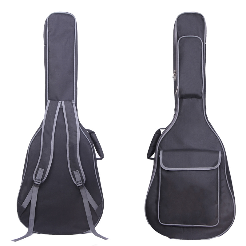 38/39/40/41 Inch Guitar Bag Carry Case Waterproof Backpack Oxford Acoustic Folk Guitar Gig Bag Cover with Double Shoulder Straps38/39/40/41 Inch Guitar Bag Carry Case Waterproof Backpack Oxford Acoustic Folk Guitar Gig Bag Cover with Double Shoulder Straps