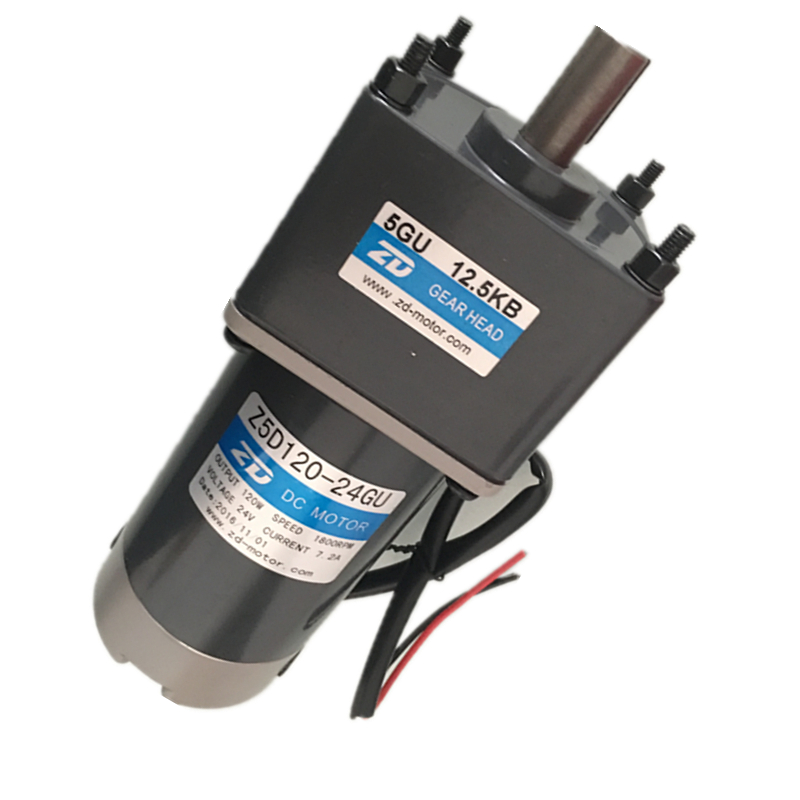 24 v <font><b>dc</b></font> 120 w <font><b>DC</b></font> gear <font><b>motor</b></font> <font><b>3000</b></font> <font><b>RPM</b></font> has an 15 mm output shaft with a Key the gearbox of 30:1 the flange size is 90x90mm image